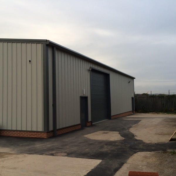 Steel Building Kits And Metal Buildings By Steel Building: Steel Portal Framed Warehouse