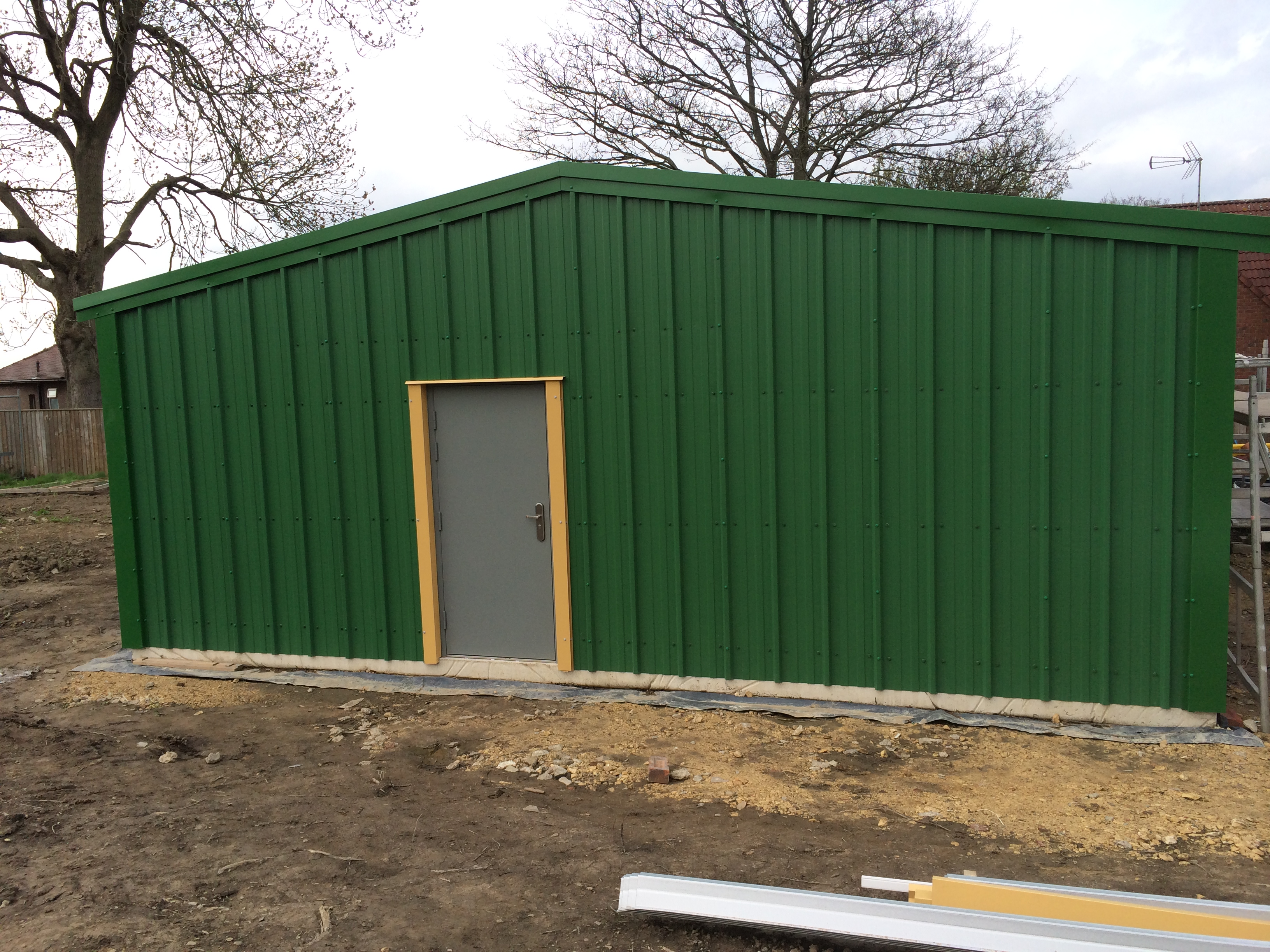 Large Insulated Double Garage Steel Building Kits